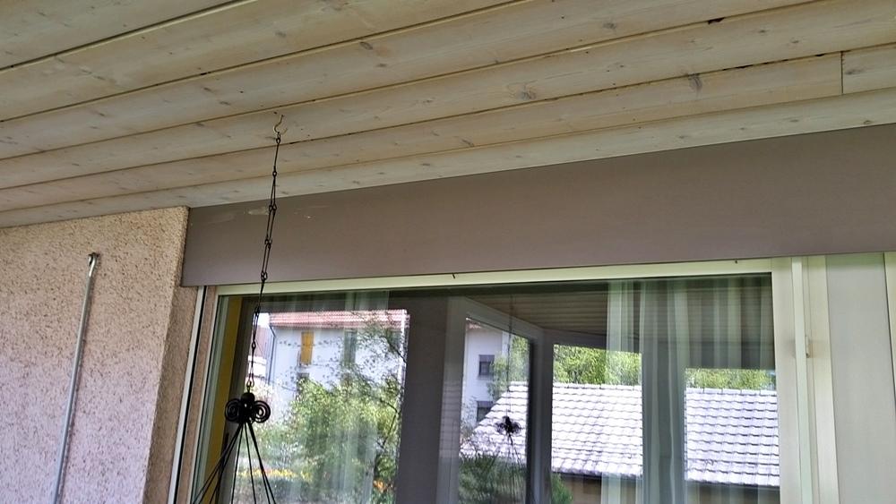 alte Decke und alte Blende