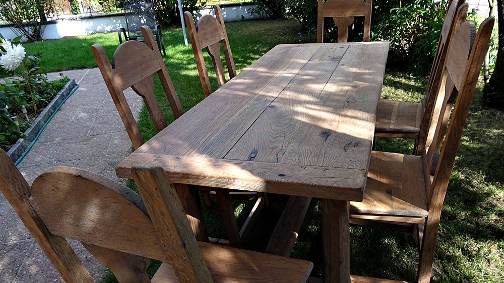 super robustes Tischgestell