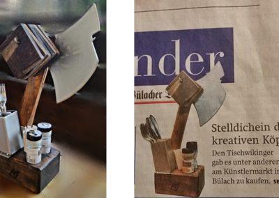 Foto vs. Zeitungsbericht