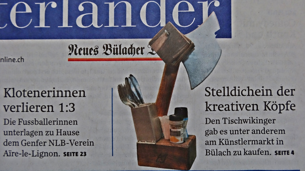 Zeitungsbericht vom Zürcher Unterländer