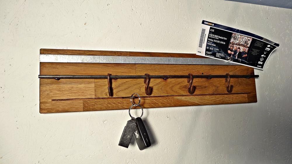 Minigarderoben für Jacken, Schlüssel, Magnete....
