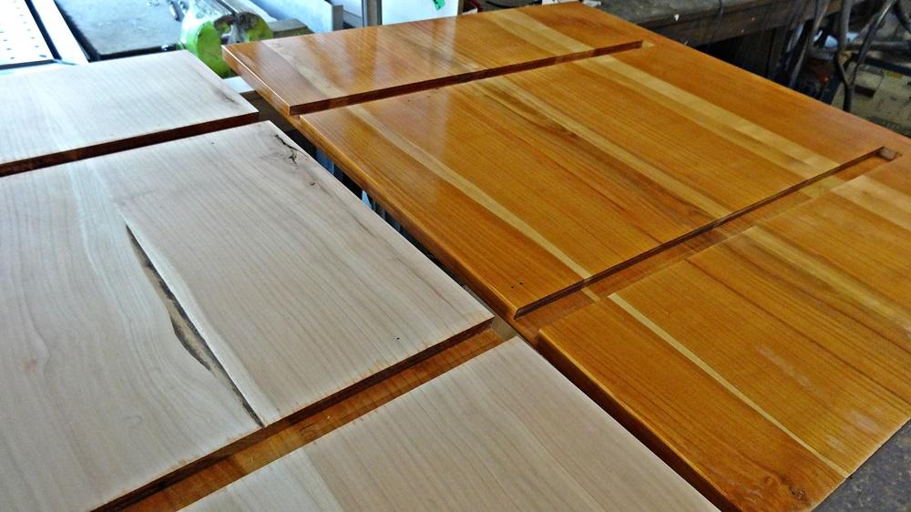 Rohes Holz vs. geöltes Holz