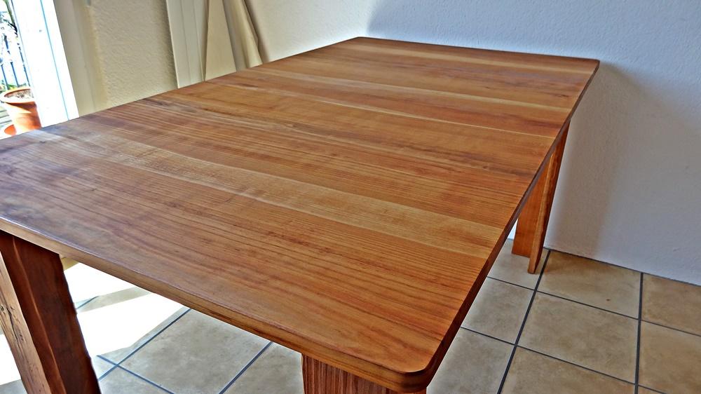Tisch zusammengefahren 1.60 m