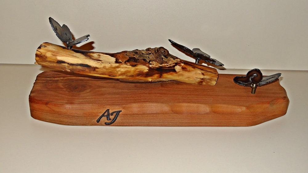 Deko mit dem Echtheitssiegel von AJ-Holzdesign