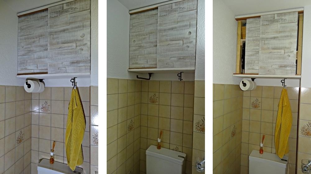 Hochschrank WC